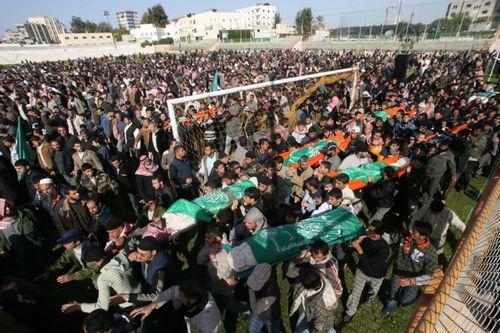 Gaza, december 27, 2008